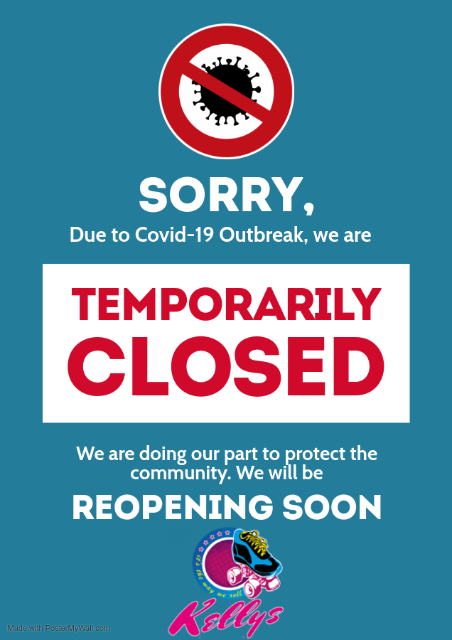 Copy of Coronavirus Information Closed Poster Flyer - Made with PosterMyWall